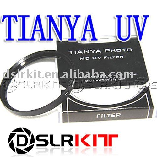 Black Metal TIANYA 67mm 67 mm UV Ultra-Violet Filter Lens Protector(China (Mainland))