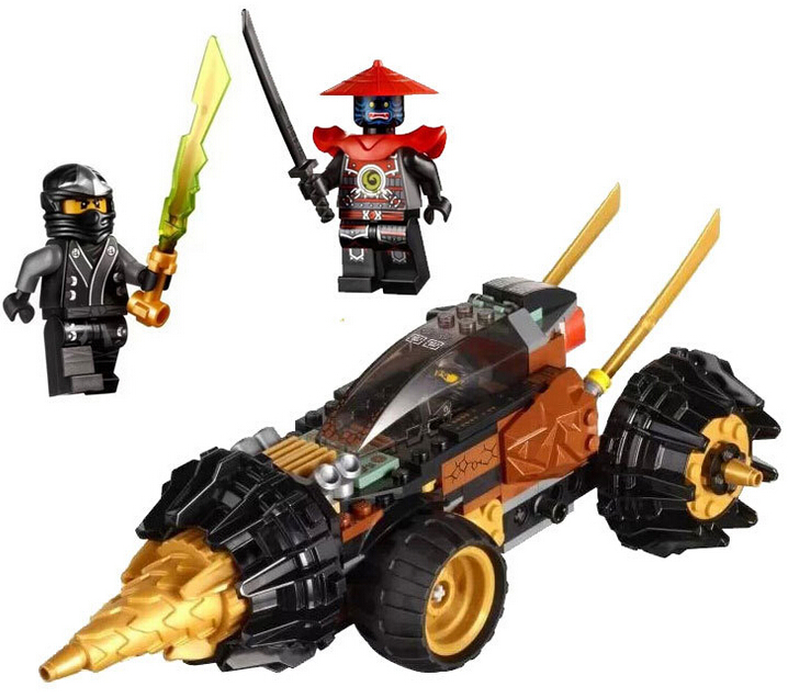 LELE 79116 Ninjago Minifigures Coles Earth Driller Kimono Cole Stone Swordsman Building Block Toys Set Kids Gifts<br><br>Aliexpress