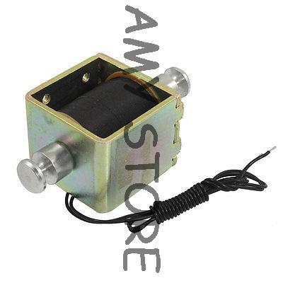 DC 24V 0.66A 2mm 2kg Actuator Linear Push Solenoid Electromagnet<br><br>Aliexpress