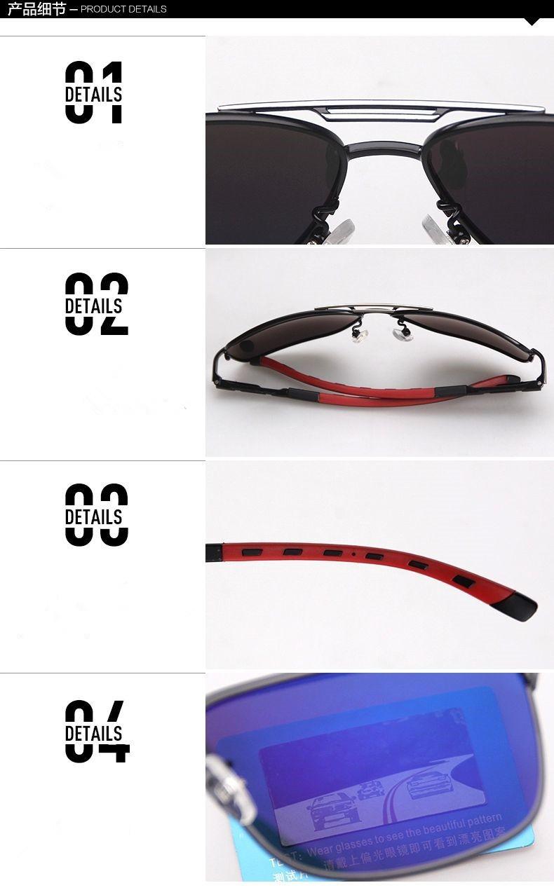Высокого класса моды поляризованных солнцезащитных очков мужской джентльмен очки 2014 новые люди солнцезащитные очки прохладно вождения зеркало 8714 óculos de sol