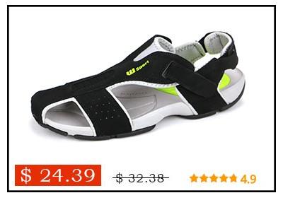 Men Sandals Summer Beach Shoes Comfortable Rubber Sandals Mens Nylon Sandles Men With US 11