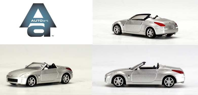 New Autoart 1:64 Car Model Silver Nissan Fairlady Z Roadster 20501 Free Shipping From HK(China (Mainland))