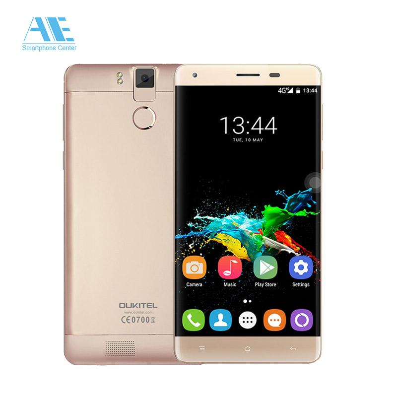 "Oukitel K6000 Pro MTK6753 Octa Core Smartphone 5.5"" FHD 2.5D Screen 3G RAM 32G ROM Cellphone 6000mAh 4G LTE Mobile Phone(China (Mainland))"