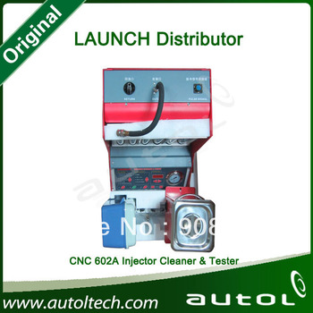 Authorized Launch Distributor]Wholesale !Launch CNC602A Injector Cleaner and Tester,Launch cnc602a fule injector tester