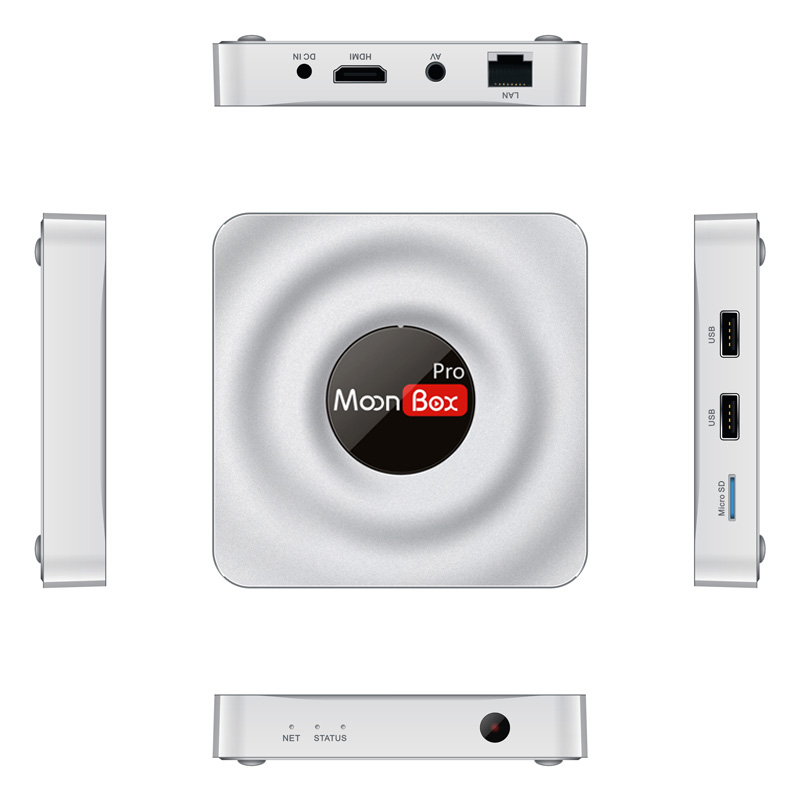 MoonBox Pro chinese/hongkong/taiwan HD Channels Android TV BOX IPTV (Set Top Box) MoonBox Media player--No Month fees!!!