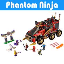 755Pcs Bela 10325 Ninja DB X Masters of Spinjitzu Phantom Ninja Minifigures Brick set Model Building Blocks Ninjagoed Toys Legoe(China (Mainland))