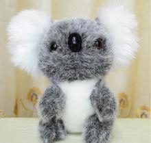 50pcs/lot 17cm Super Q Koala Bear Phascolarctos cinereus Movies TV Cartoon Video Stuffed Plush Toys Dolls Anime Gift