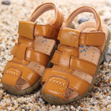 2016 summer latest style boys girl children leather font b shoes b font toddler baby beef