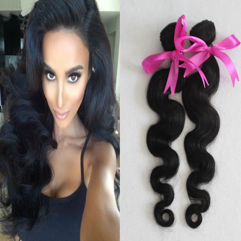 Здесь можно купить  Indian Virgin Hair Body Wave 2pcs Natural Hair Extension 8A Unprocessed Indian Virgin Hair Weave Very Soft Aliexpress hair  Волосы и аксессуары