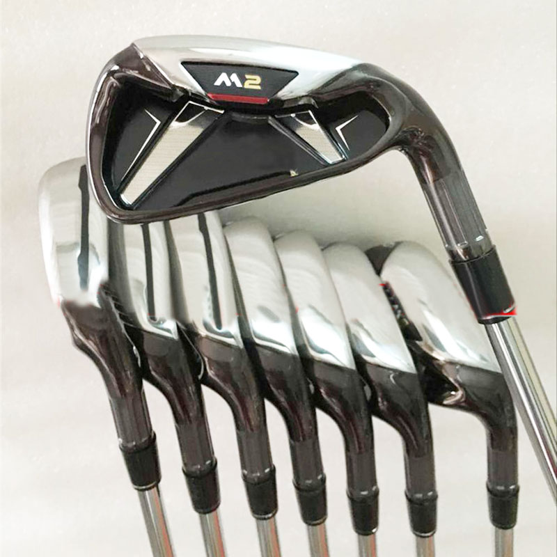 Hot New mens Golf Clubs M2 Golf irons set 4-9.P.S Graphite Golf shaft R or S flex clubs Irons Freeshipping(China (Mainland))