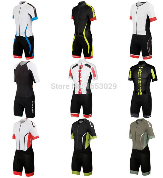 2015 New Breathable Scorpions Sport Bike Pro MTB Skintight Wear Ropa Ciclismo Cycling Jersey Cycling Skinsuits Clothing 3D Pad(China (Mainland))