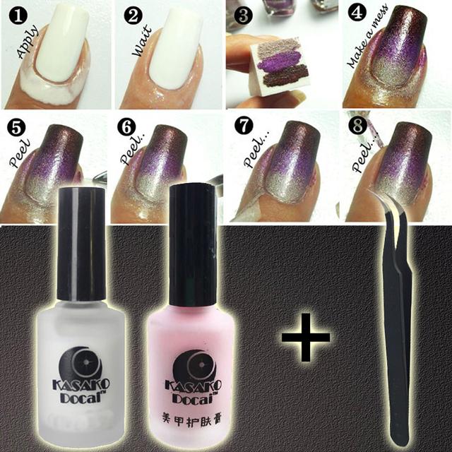Peel Off Liquid Nail Art Tape