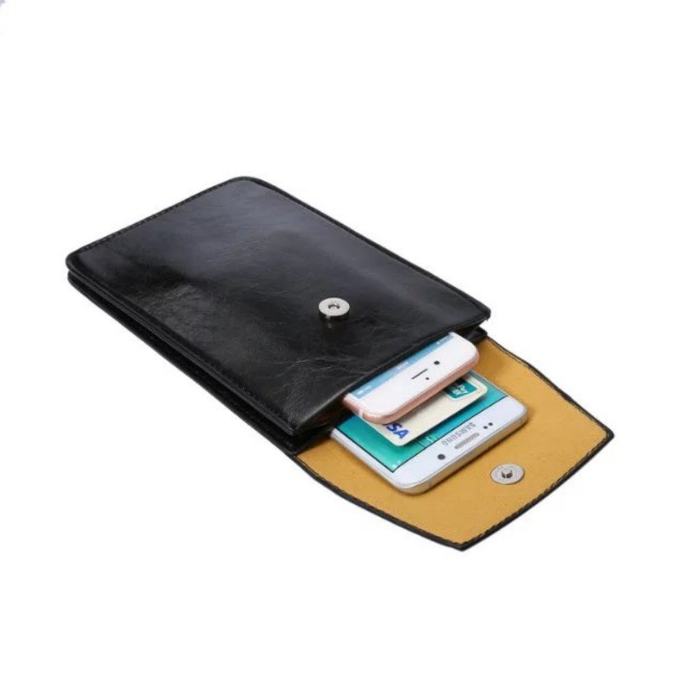 """Universal 6.3""""Messenger Bag Adjustable shoulder strap phone package Wallet Pouch case for iphone LG Huawei Samsung Sony"""