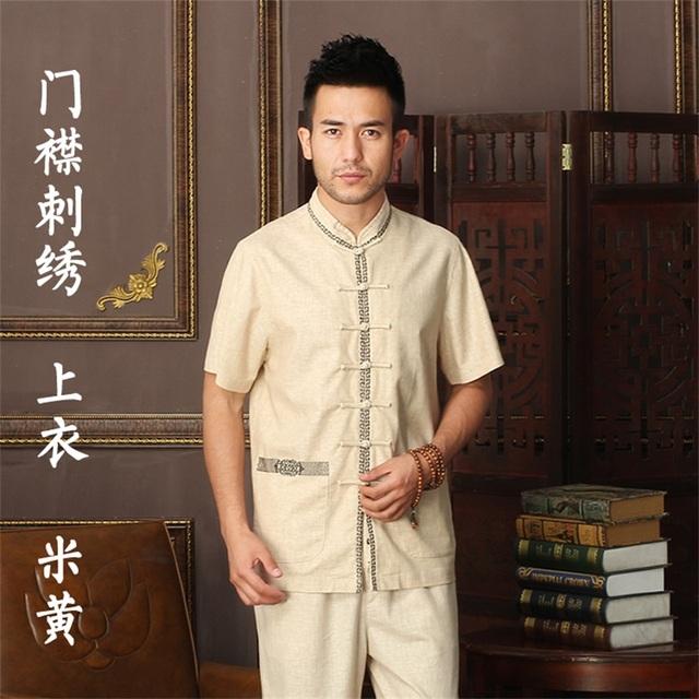 Горячая распродажа 17 стиль китайской традиционной мужская хлопок белье вышивка кунг-фу ...