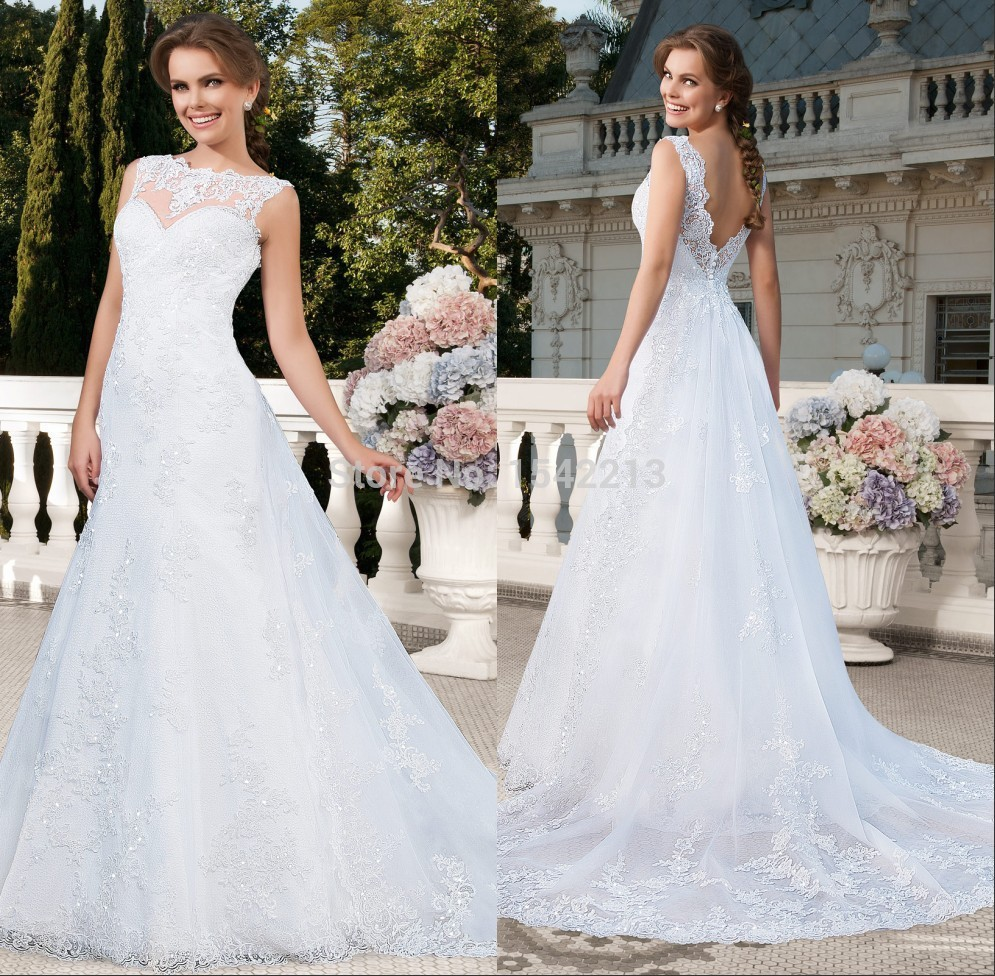 New arrival white ivory organza princess wedding dress for White wedding dress cheap