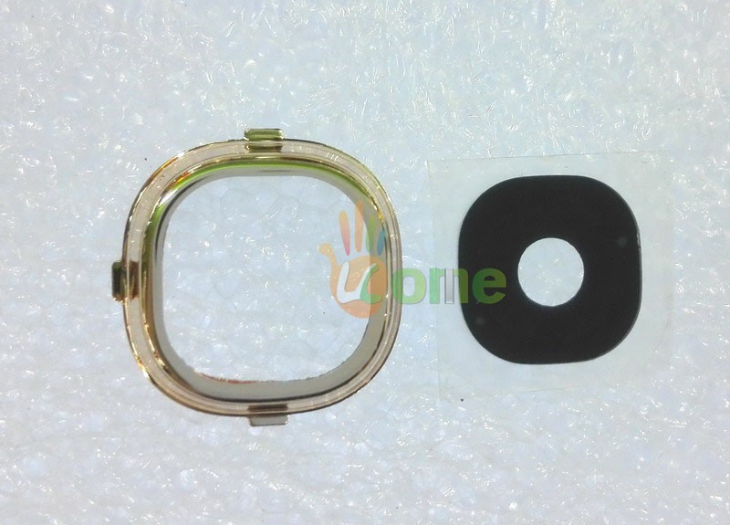 2PCS/Set 4PCS For Samsung Galaxy S4 i9500 i9505 i337 Original Back Camera Lens Cover Ring Replacement Parts