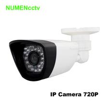 Buy New Waterproof 1280*720P HD ONVIF Cloud Webcam bullet Security IP Cam IR Night Vision Camera Outdoor Indoor IP camera system for $22.40 in AliExpress store