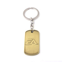 Game Battlefield 1 Double Tag Necklace Weight 67G High Quality Zinc Alloy Metal Women Men Jewelry Car Holder Accessories(China)