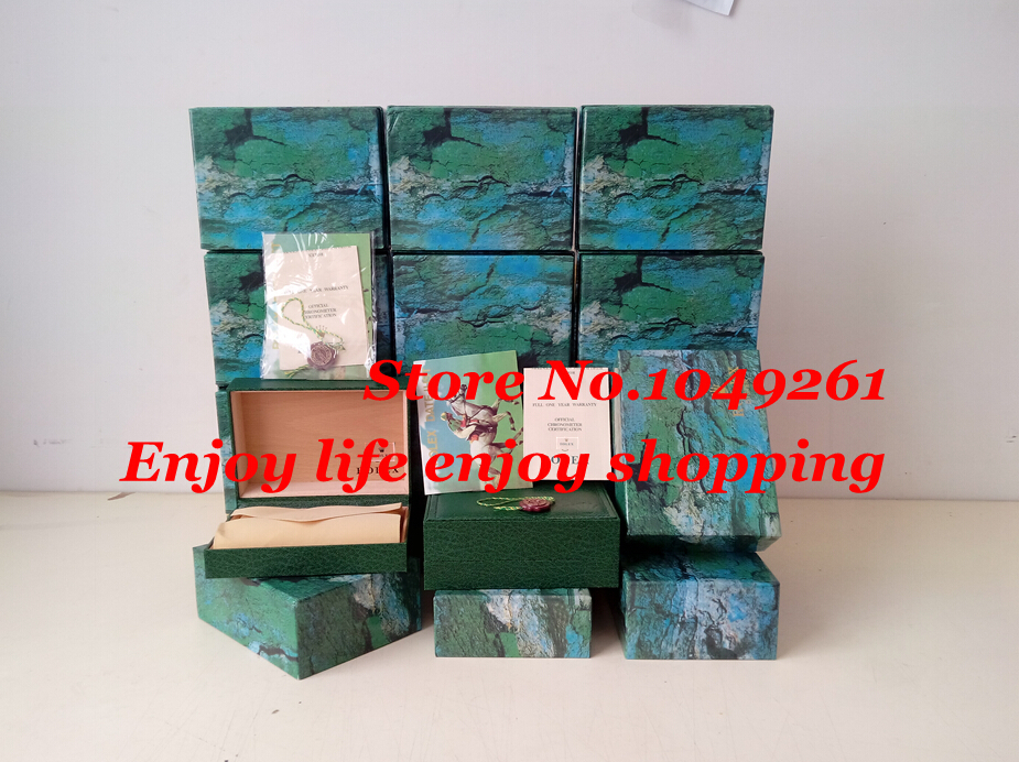 watch boxes Wholesale brand new wood watch box with certificate, logo, brochures(China (Mainland))