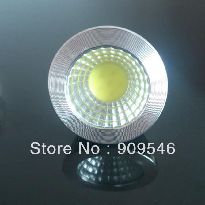 High power led spotlight GU5.3 5W base LED lamp 10pcs/lot dim or no-dim for choice+LED bulbs AC85V--AC265V(China (Mainland))