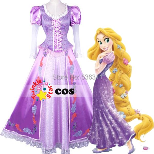 Rapunzel Traje De Adultos - Compra lotes baratos de Rapunzel Traje ...