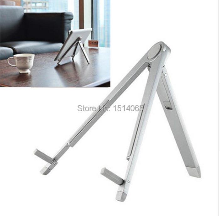 Новый универсальный металлического алюминия портативный складной держатель кронштейн крепление для iPad 2 / 3 / 4 воздуха мини на мобильный планшет