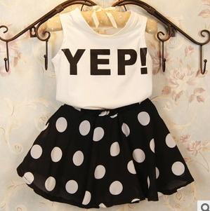 Здесь можно купить  Free shipping 2015 new summer Kids clothing set Girl