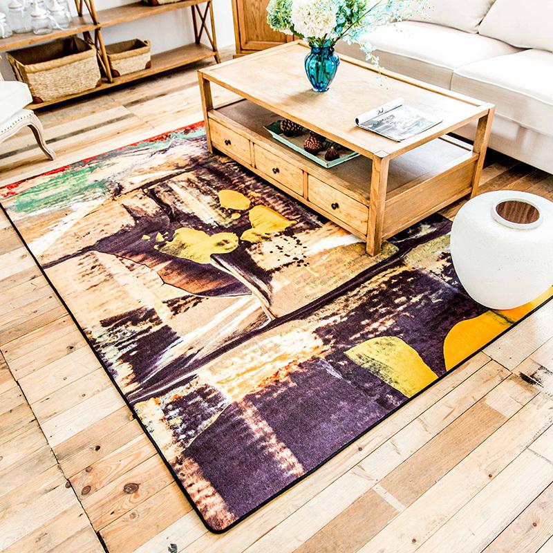 Здесь можно купить  160*230cm Large Area Rugs For Home Decorative Painting Living Room Carpet Parlor Big Mats tappeto modern tapetes de quarto tapis  Дом и Сад