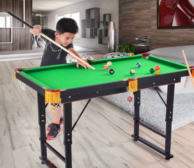 Children's mini billiard table pool table 1.2m folded snooker billiard table(China (Mainland))