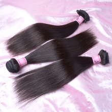 Natural Color Best Selling Products Brazilian Yaki Straight Hair Can Be Dyeable And Bleachable Custom Hair Extension(China (Mainland))