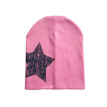 Christmas Star Printed New Newborn cotton infant hats Toddler Girl Boy Hat Baby Cap Cute Beanie
