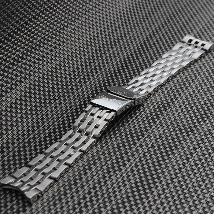 22 мм 24 мм Стальной браслет Металлический Браслет Часы Ремешок мужские часы Группа Аксессуары Ремешки