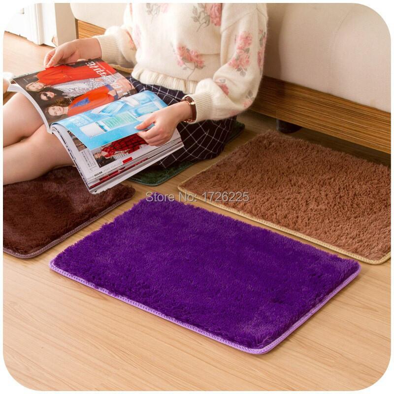 new arrival gold velvet non slip rug home bedroom living