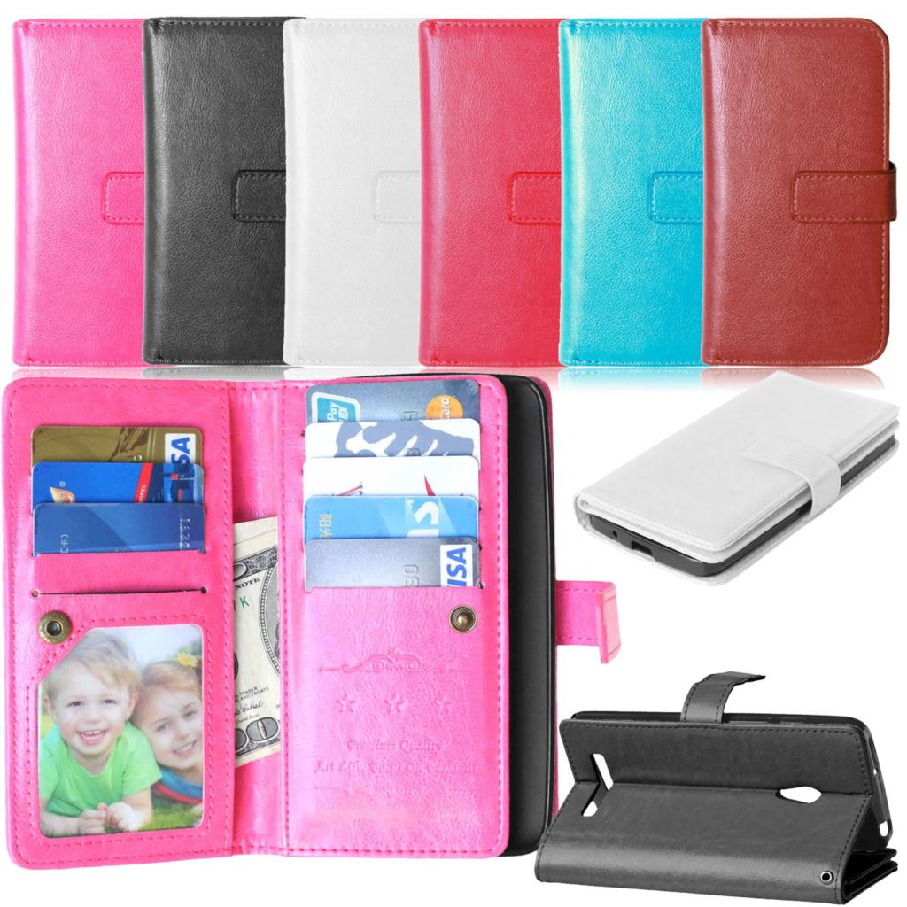 ZenFone 5 High Quality Wallet Leather Case For Asus Zenfone5 A501CG A500CG Phone Cases Card Holder Stand Design Mobile Bag Cover(China (Mainland))