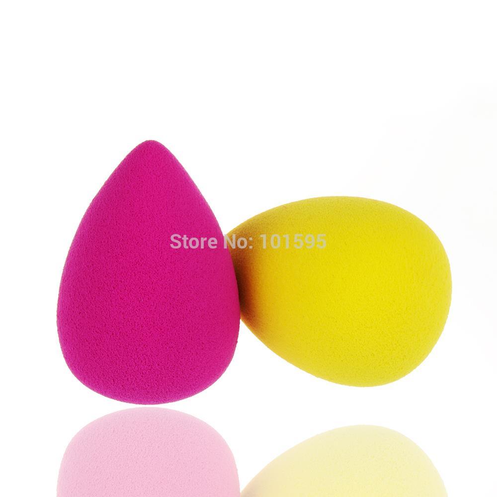 Forma água fundação maquiagem esponja Blender Blending cosméticos Puff Flawless pó beleza suave maquiagem ferramenta