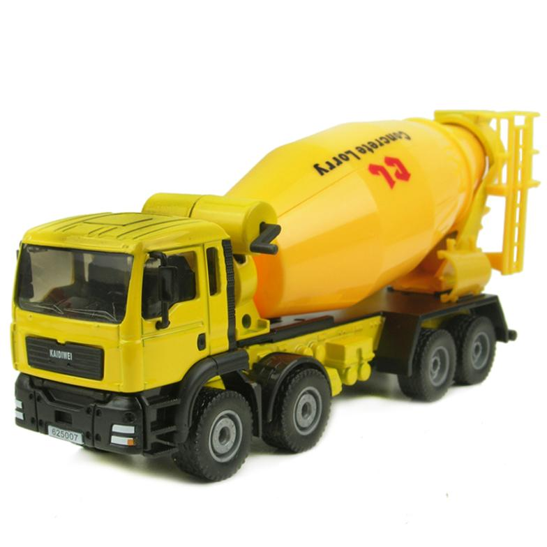 Mixer Truck Toy : Engineering car cement mixer truck tanker model toy alloy