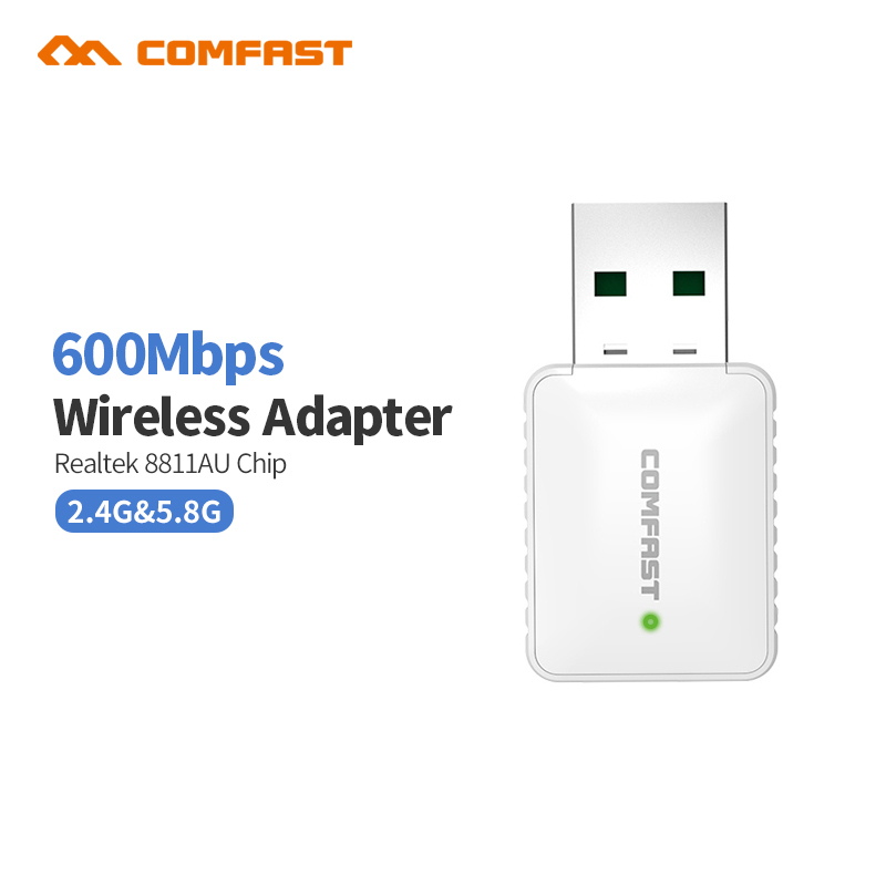 Comfast CF-915AC Mini USB WiFi 600M 802.11ac Wi-Fi adapter 5GHz usb wifi antena Wireless Network LAN Card computer pc receiver(China (Mainland))