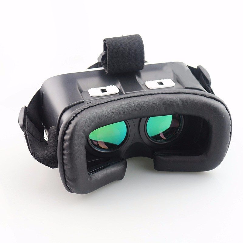 VR BOX 3.0 VR Plus Virtual Reality Goggles Coating Glass Lens Helmet 3D Glasses Headset for 4-6.5'phone + Bluetooth Remote