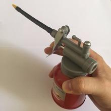 High Pressure Pump Oiler 250ml Lubrication Oil Can Plastic Machine Oiler Grease 120mm Length Flex Gun High Pressure Fed Oil Gun(China (Mainland))