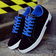 2016 Spring new Korean version of the trend of men's Low to help shoes suede leather lace casual men shoes bright student shoes(China (Mainland))