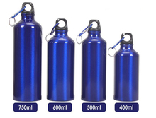 Outdoor Fun & Sports 500ml Aluminum Alloy Portable Camping Hiking Bottle Bike Bicycle Accessories Cycling Sport Water Bottle(China (Mainland))