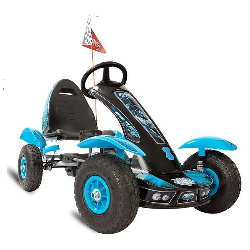 5-14 age Children 12 inch air wheel pedal go karts, 4 color for available(China (Mainland))