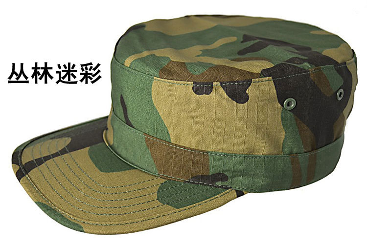 Hiking Hunting Woodland cap,Patrol Cap HAT Military Army + - Rock Soldier Design store