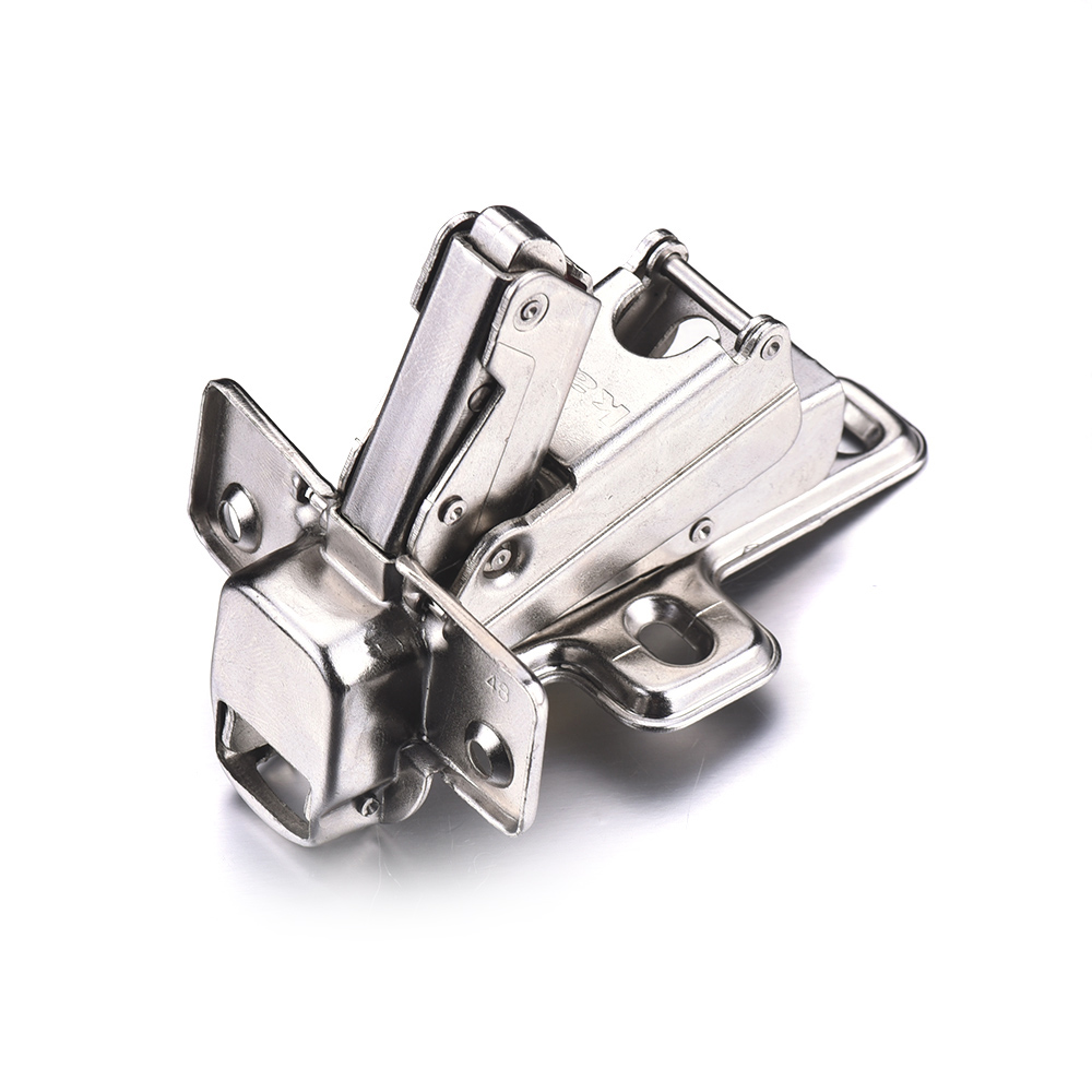 Cheap Furniture Accessories Hydraulic CRS Hinge For Door And Cabinet Diameter Of Installation Hole 4mm(China (Mainland))