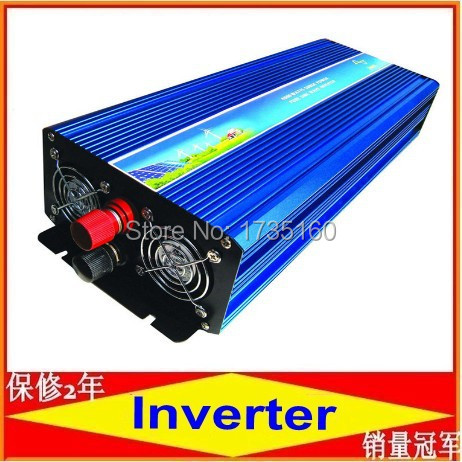 high quality 3000w Pure Sine Wave Power Inverter 24VDC to 220VAC dc 24v to ac 220v Power inverter Car Inverter Converter(China (Mainland))