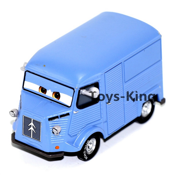 Blue Cash Truck of Pixar Cars 2,Mini Alloy Toy Car,1:55 Scale, Diecast Metal Model Toys For Children Kids Gifts(China (Mainland))