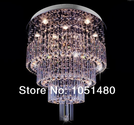 new promotion sales crystal light, luxury modern crystal chandelier with best K9 crystal for home/hotel/restaurant/stair(China (Mainland))