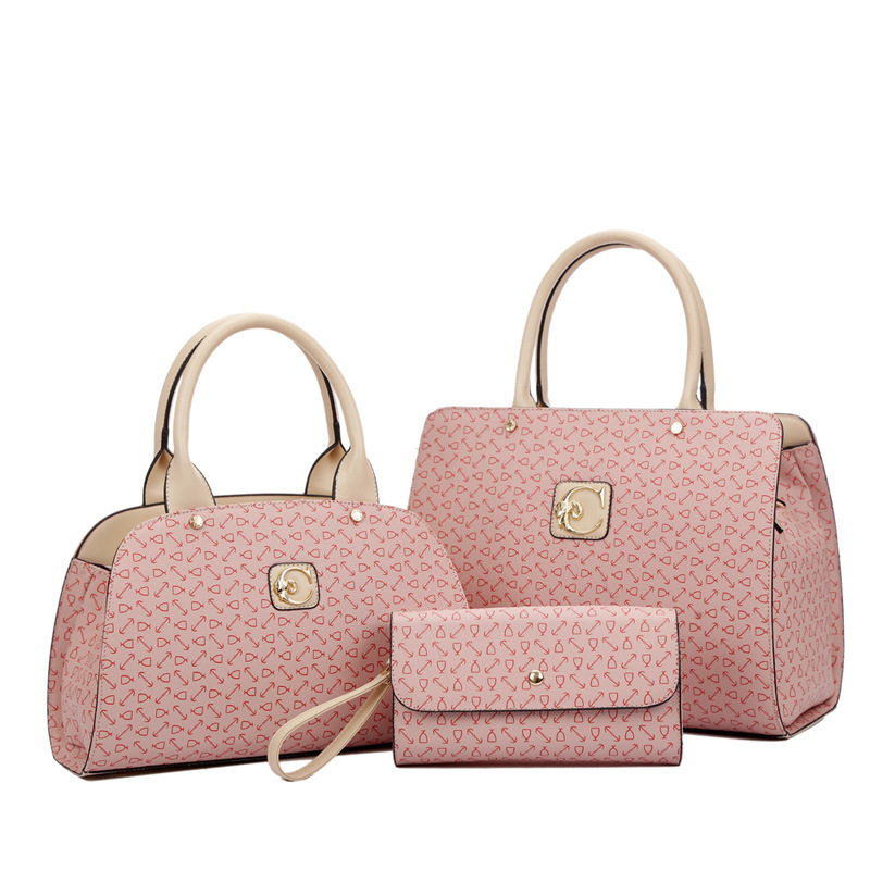 spring and summer 2015 arrow head profile three piece shaping bag manufacturers selling handbags wholesale Xin Yueda(China (Mainland))