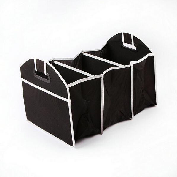 Free Shipping 50pcs/lot Collapsible Car Trunk Organizer Truck Cargo Portable Tool Folding storage Bag Case(China (Mainland))