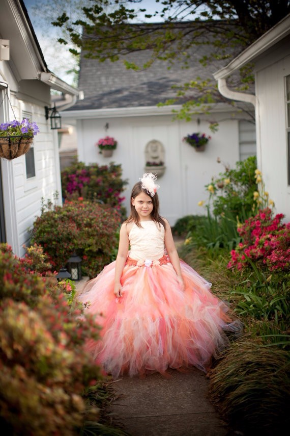 Скидки на Детская одежда Лето Симпатичные Платья для девочек Слинг стиль рукавов Пачка платье Принцессы + оголовье Пользовательские Малышей девушка одежда